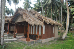Tropikalna plażowa buda Obraz Royalty Free