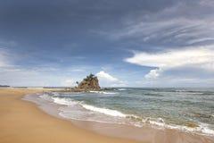 Tropikalna plaża przy Terengganu, Malezja Zdjęcie Stock