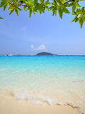 Tropikalna plaża, Similan wyspa Tajlandia Obraz Royalty Free