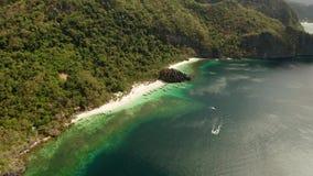 Tropikalna seawater laguna i pla?a, Filipiny, El Nido zbiory