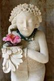 Tropikalna statua Obrazy Royalty Free