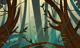 Tropikalna tropikalny las deszczowy dżungla Zdjęcie Royalty Free