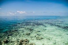 Tropikalna woda morska Zdjęcia Royalty Free