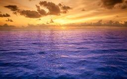 Tropikalna woda morska Zdjęcia Stock