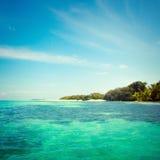 Tropikalna woda morska Fotografia Stock
