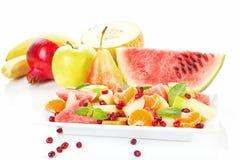 tropikalna wyśmienicie owocowa sałatka Obraz Stock