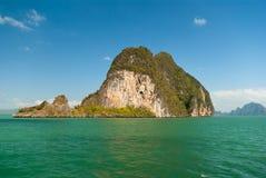Tropikalna wyspa Obrazy Stock