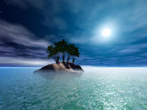 tropikalna wyspa Zdjęcie Royalty Free