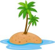 tropikalna wyspa Obraz Stock