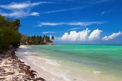 Tropikalna wyspa kurortu nabrzeża plaży krajobrazu perspektywa vi Obrazy Stock