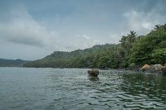 Tropikalna wyspa sao wolumin Obrazy Royalty Free
