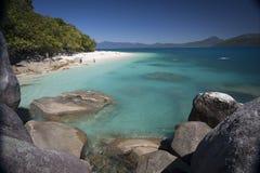 Tropikalna wyspy plaża Obraz Royalty Free