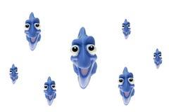 Tropikalna zabawki ryba Zdjęcie Royalty Free