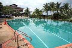 tropikalne basen popływać Obrazy Stock