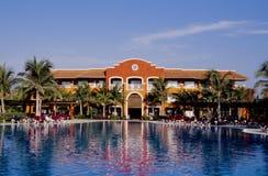 tropikalne basen popływać Obrazy Royalty Free