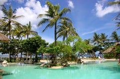tropikalne basen popływać Fotografia Royalty Free