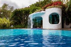 tropikalne basen popływać Obraz Stock