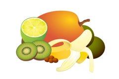 tropikalne inkasowe owoc Zdjęcia Royalty Free