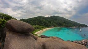 tropikalne morza Zdjęcie Royalty Free