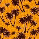 Tropikalne palmy Bezszwowe ilustracji