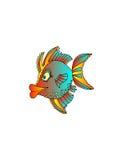 tropikalne ryby ilustracji