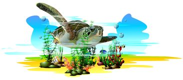 tropikalne ryby (wektor) Zdjęcie Royalty Free