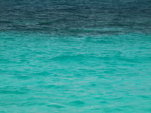 tropikalne wody Zdjęcia Royalty Free