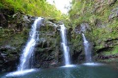 Tropikalne wysp siklawy fotografia stock