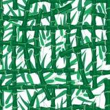 Tropikalnego lasu deszczowego t?o Liść gałąź trzonu bambusa tapeta royalty ilustracja
