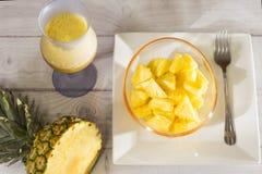 Tropikalnej owoc ananas od Ameryka Południowa zdjęcia royalty free