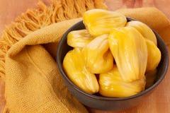 Tropikalnej owoc Jackfruit jakfruit, dźwigarka, jak (,) Obrazy Stock
