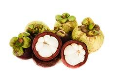 Tropikalnej owoc mangostan Obrazy Stock