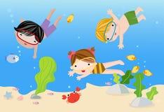Tropikalni wakacje, ilustracji