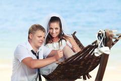 tropikalny ślub Fotografia Royalty Free