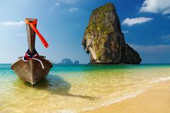 tropikalny andaman plażowy denny Thailand Obrazy Royalty Free