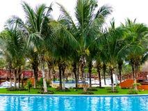 Tropikalny basen Obrazy Stock