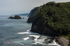 Tropikalny brzegowy Hawaje, podróż Zdjęcia Royalty Free