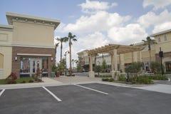 tropikalny centrum handlowe pasek Zdjęcia Royalty Free