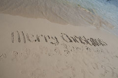 Tropikalny Christamas Zdjęcie Royalty Free