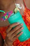 tropikalny drinka Zdjęcia Royalty Free
