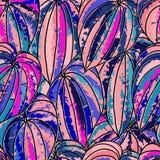 Tropikalny egzot kwitnie i rośliny z zielonymi liśćmi palma Zdjęcia Stock