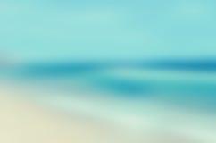 Tropikalny horyzontu abstrakta tło Obrazy Stock