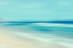 Tropikalny horyzontu abstrakta tło Obrazy Royalty Free