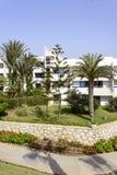 Tropikalny hotel na Atlantyckim oceanie w Agdir Zdjęcia Royalty Free