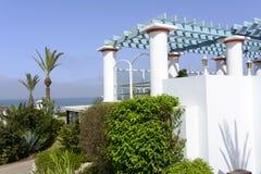 Tropikalny hotel na Atlantyckim oceanie w Agdir Obrazy Royalty Free
