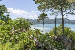 Tropikalny hotel, Seychelles zdjęcia stock