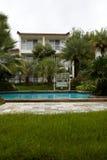 Tropikalny hotel w kurorcie zdjęcie stock