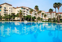 tropikalny hotelowy kurort zdjęcia royalty free