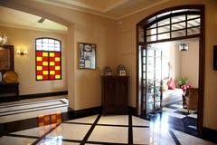 tropikalny hotelowy kurort Zdjęcie Stock