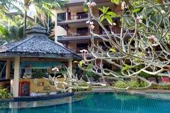 tropikalny hotelowy kurort obrazy stock
